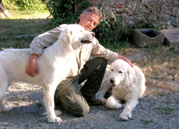 Carlo Romiti e i suoi cani